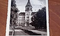 AK / Ansichtskarte Halle_Saale Hauptpost 1937