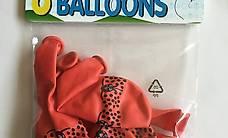 16 Luftballone Marienkäfer
