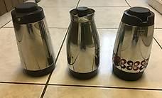 Schöne Kaffee -Termoskannen / -Krüge