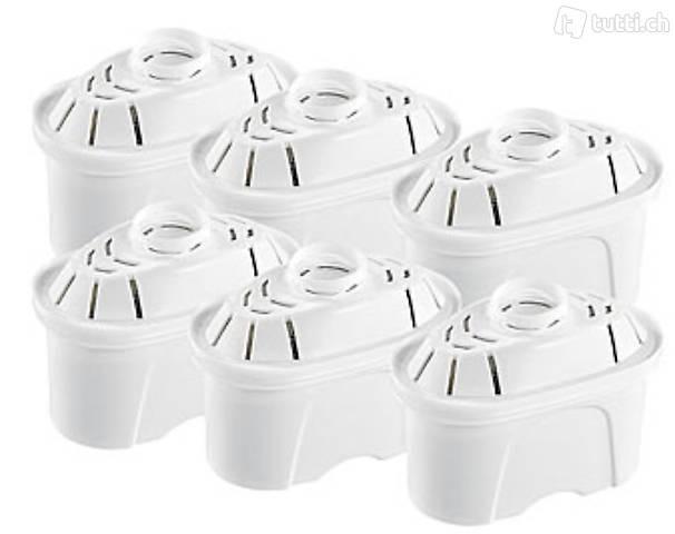 Filterkartuschen oval, 6er-Pack, passend für Brita Maxtra &