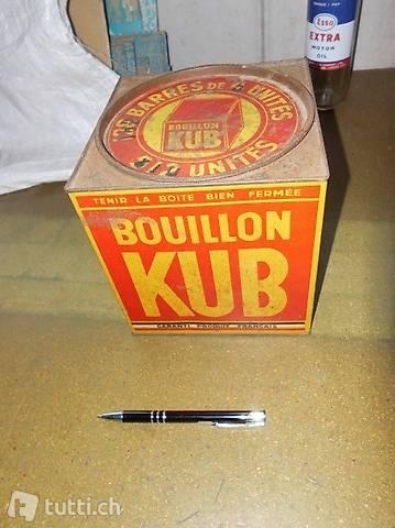 alte Blechdose Bullion KUB antik Brocki Sammler Dekoration
