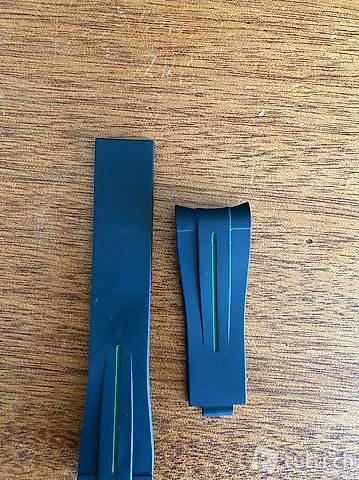 Oyster flex style Kautschuk gmt Rubber Uhrenband 20 mm