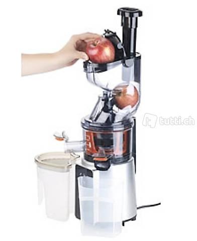 Digitaler Slow Juicer & Kaltpress-Entsafter f. ganze Früchte