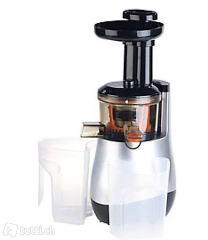 Elektrischer Slow Juicer, 60 Umdrehungen/Min., leiser Motor,