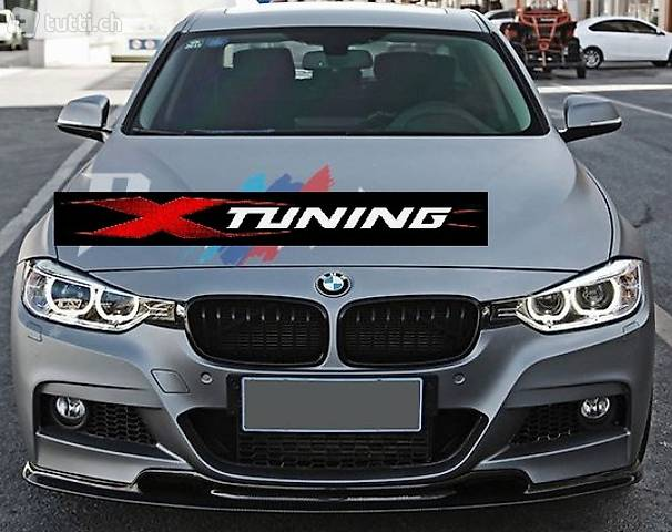 BMW F30 F31 FRONTLIPPE 3D CARBON FRONT SPOILER