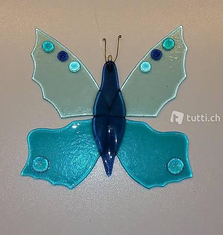 Schmetterling aus Glas