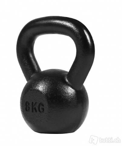 Kettlebell schwarz 8 kg