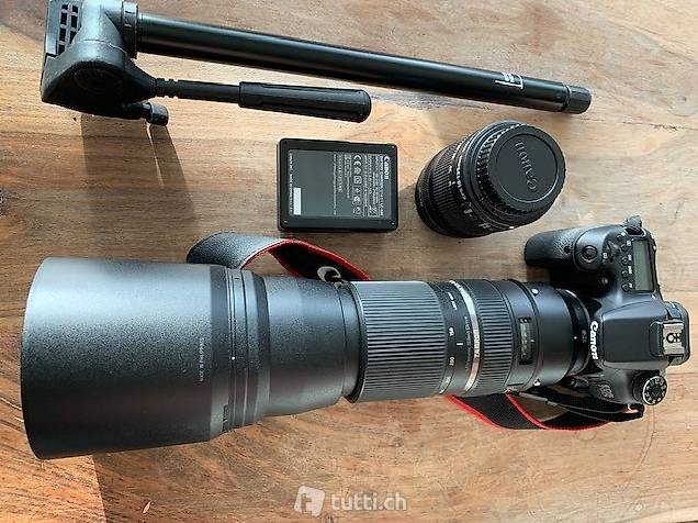 CanonEOS 70D(WIFI)-Spiegelreflexkamera/Rucksack & Equipment