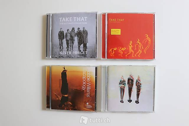 Take That CD-Collection