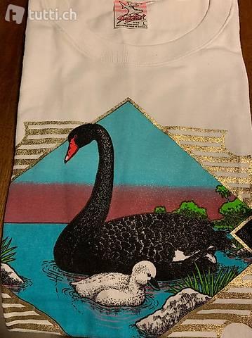 T-Shirt mit Motiven, 80er-90er Jahre
