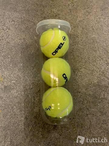 Opel Tennisbälle Martina Hingis