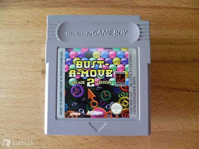 Bust-A-Move 2 - Arcade Edition - Nintendo Game Boy