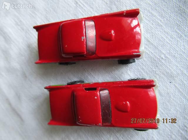 HOT WHEELS, Hotwheels,  2 rote Autos,