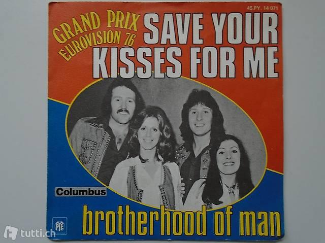 Brotherhood of Man, Single Vinyl, Schallplatte