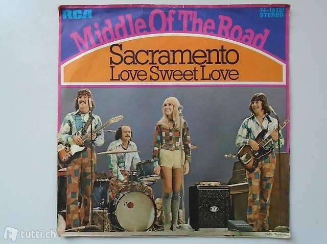 Middle of The Road, Single Vinyl, Schallplatte