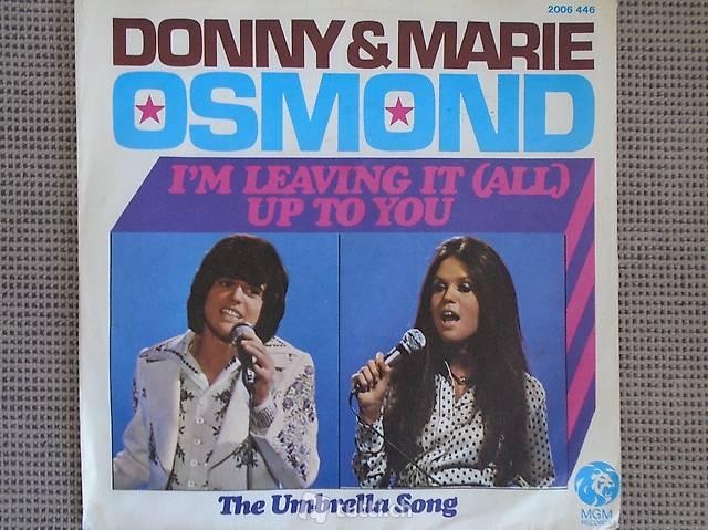 Donny & Marie Osmond, Single Vinyl, Schallplatte