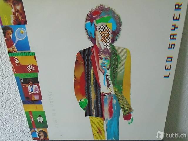 Leo Sayer, Living in A, Vinyl, Schallplatte