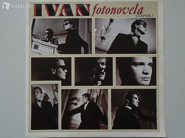 Ivan, Italo Disco, Single Vinyl, Schallplatte