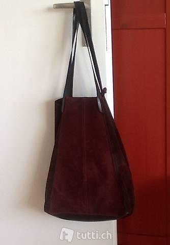Tasche Leder Vintage