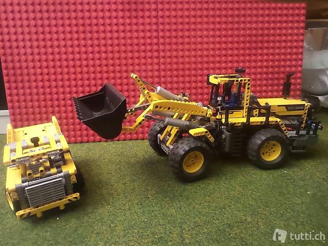 Lego Technik 8265 mit Powerfunctions, Licht + 42035