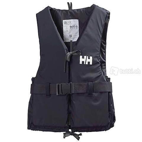 Schwimmweste Helly Hansen L 70 bis 90 kg schwarz