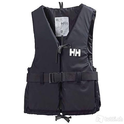 Schwimmweste Helly Hansen S 50 bis 60 kg schwarz