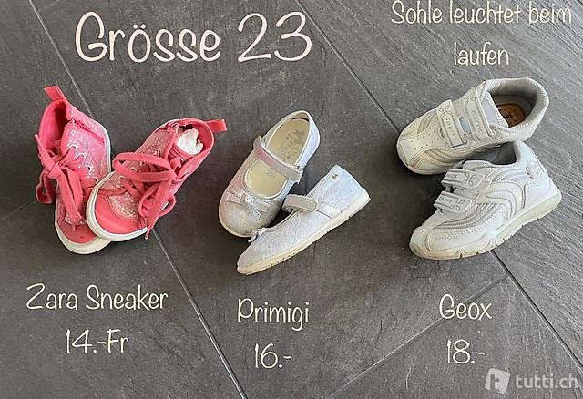 Zara, Primigi, Geox, Schuhe Mädchen, Grösse 23