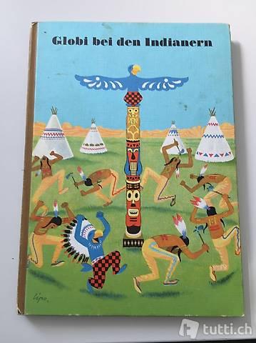 Globi bei den Indianern Original 5 von 1979