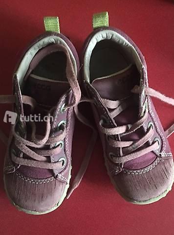 Tolle Schuhe von ecco gr 25 echt Leder in Basel kaufen