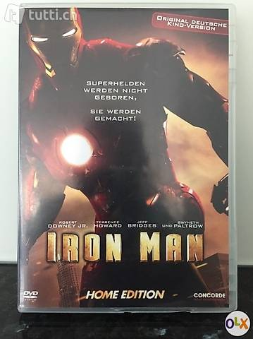 Iron Man 1, DVD