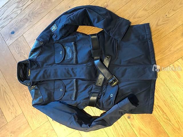 dunkelblaue Winterjacke von Refrigiwear Gr M / 48