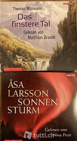 Hörbücher CD Das finstere Tal und Sonnenstrum