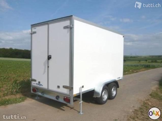 Kühlanhänger, Getränkeanhänger, Kühlkoffer, AZKF 3030/180