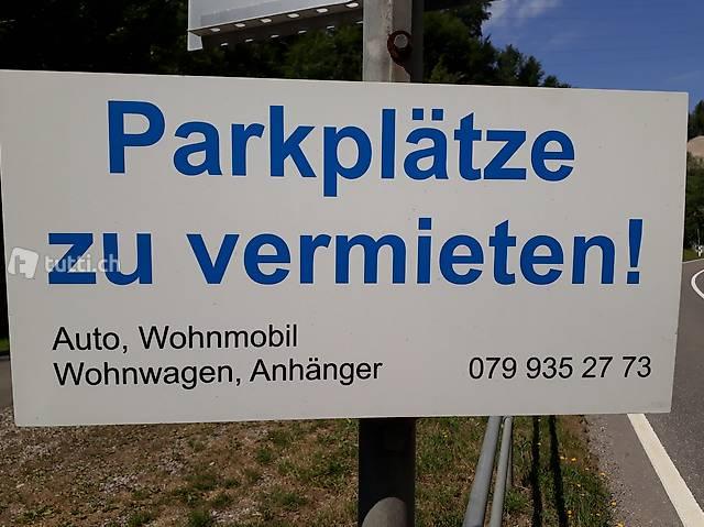 Abstellplätze, Parkplätze: Wohnmobile, Wohnwagen, Anhänger..