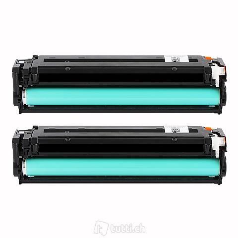 Color LaserJet Pro M181fw Toner Cartridges black Doppelpack