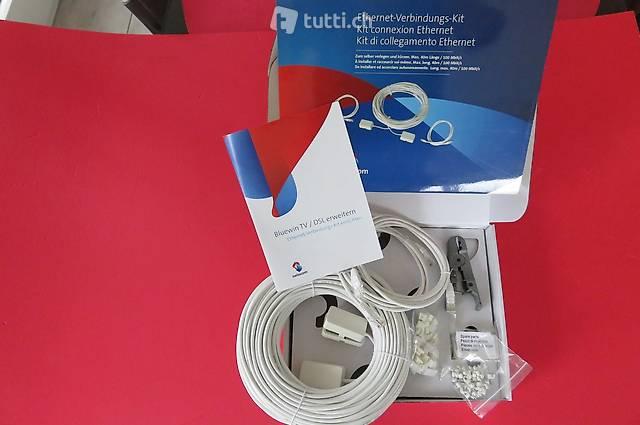 Bluewin TV/DSL Verbindungs-Kit, für PC oder TV-Box