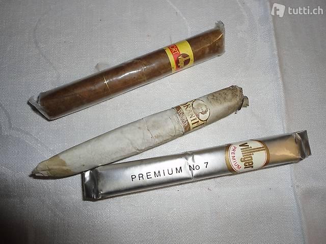 Stumpen, Zigarren, 3 Stücke