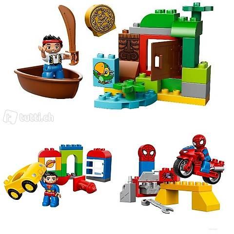 Lego 3x Duplo Superhelden