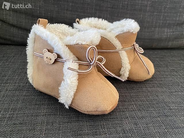 Warme Babyschuhe Ca. 5-9 Monate