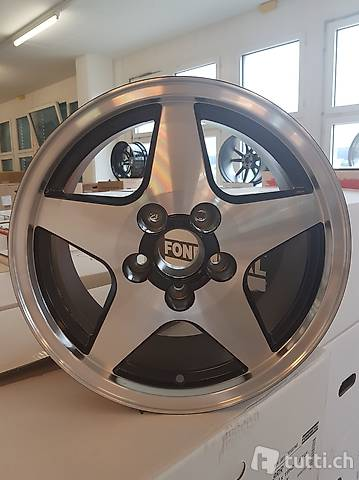 FONDMETAL 4000 7,5x16 zu AUDI
