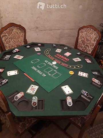 Vendo Nuovi Supporto tavolo pieghevole da poker 8 giocatori