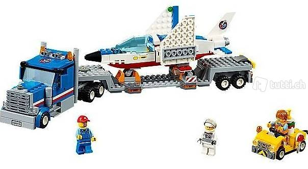 Lego City 60079 Training Jet Transporter, Weltall, Space