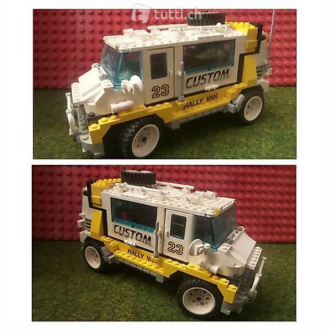 Lego Model Team 5550 Rally Van, Jeep