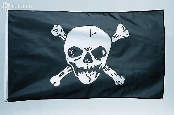 XL Piratenfahne Totenkopf Jolly Roger