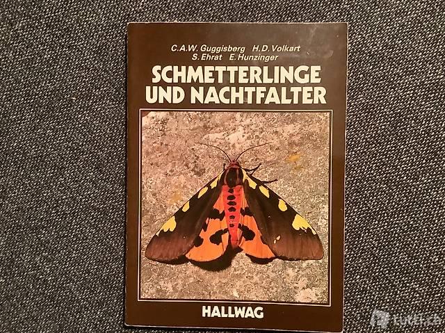 Schmetterlinge und Nachtfalter, Bestimmungsbuch