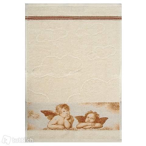 Tissu éponge ANGE serviette de visiteurs 30x50cm