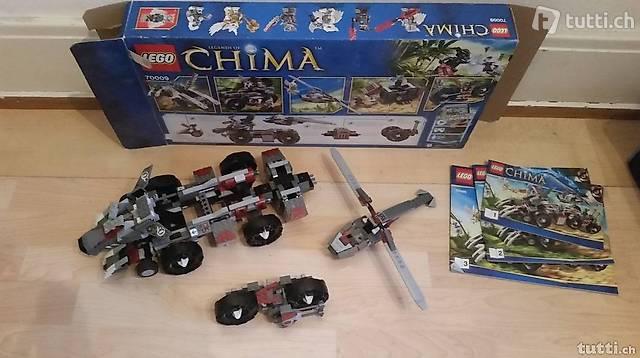 Lego CHIMA mit bauanleitung