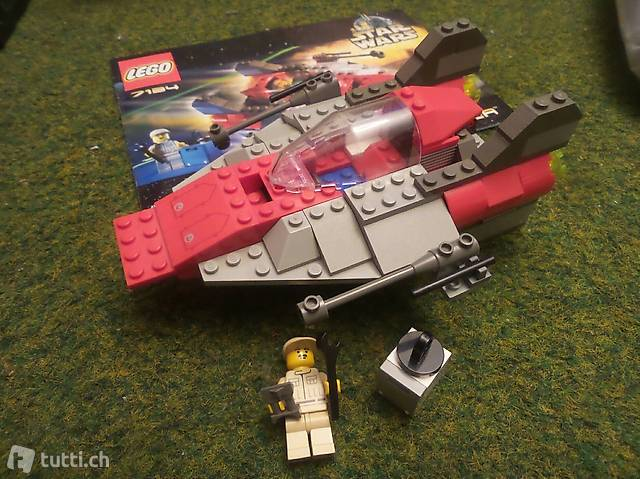 Lego Star Wars 7134 A-Wing Fighter erste Version
