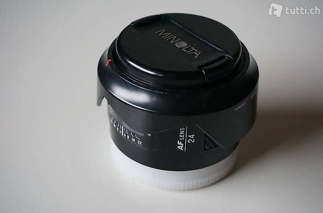 Minolta AF 24mm f2.8 Weitwinkel auch f. Sony