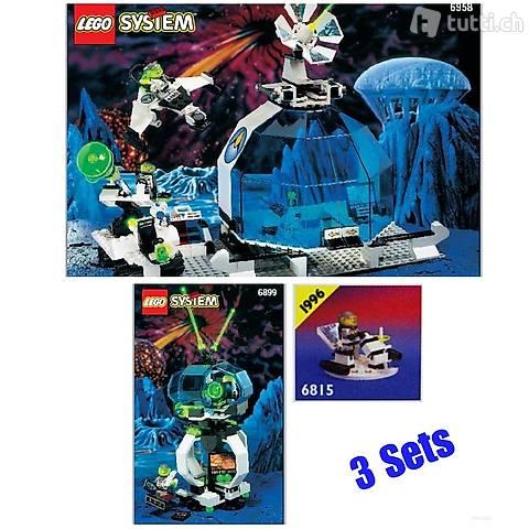 Lego 3x Exploriens - Basis, Aussenposten, Hovertron
